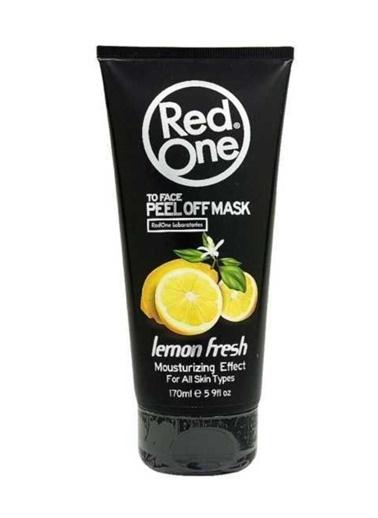 RedOne Limon Aromalı Soyulabilir Yüz Maske 170 ml Renksiz